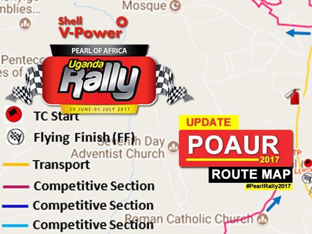 Route Map - POAUR 2017