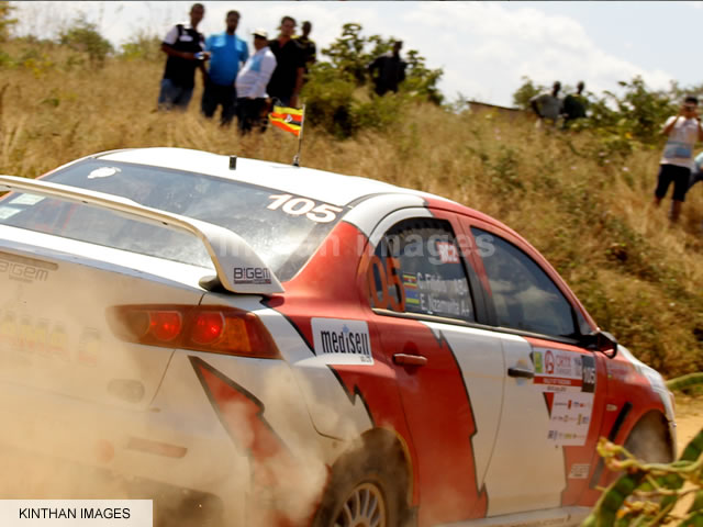 Fitidis Roars Past Rally Fans