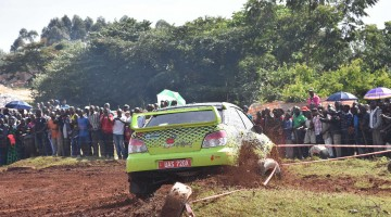 Suzan Muwonge in action in Kako Super Special Stage.PHOTO BY Virgin Images
