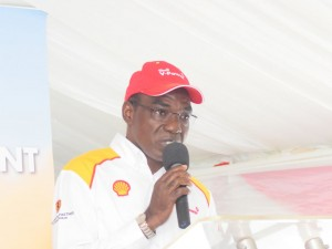 Gilbert Assi, MD Vivo Energy. Shell V-Power Brand