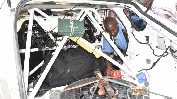 Chief Scruitneer Moses Sseguya