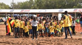 Team Uganda at FIM MXoAN Harare