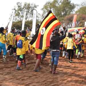 Team Uganda emeges 3rd at the 2019 FIM Motocross fo Africa Nations (MXoAN) in Harare