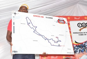 Alook of the 19.59km Kitwe section being displayed at the launch.PHOTO BY Kinthan Images.