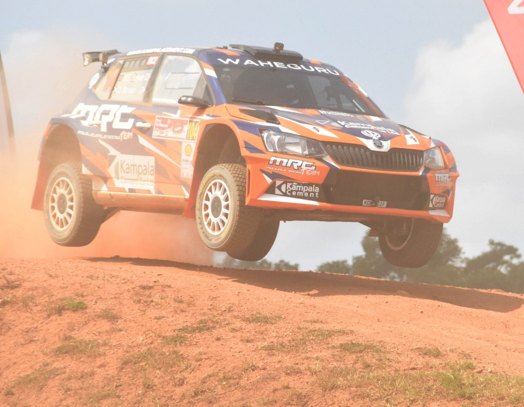 Manvir Baryan in action during the previous Pearl rally .Kinthan Images