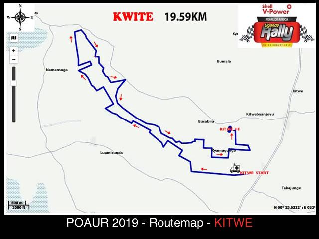 Kitwe - POAUR 2019 Map