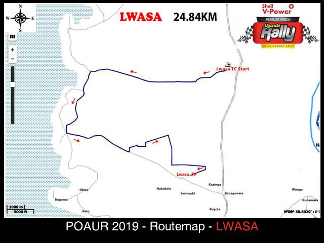 Lwasa - POAUR 2019 Map