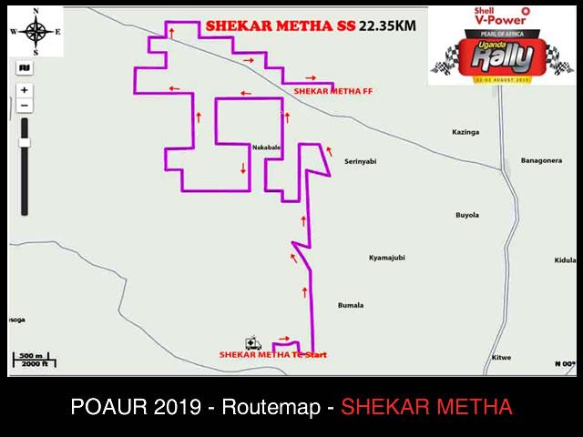 Shekar Metha Map POAUR 2019