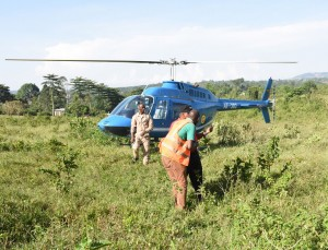 Okee lands a chopper in Nama .PHOTO BY Kinthan Images